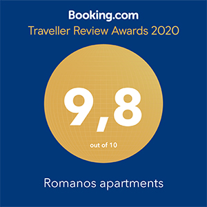 Booking.com - Romanos Award